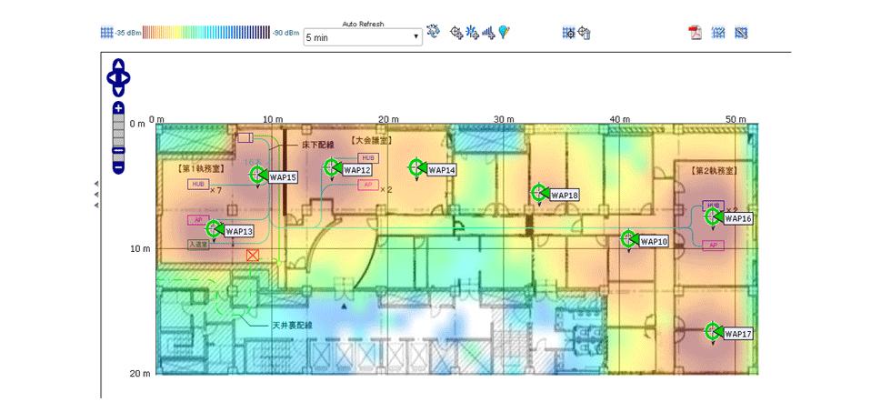 ヒートマップ参考図